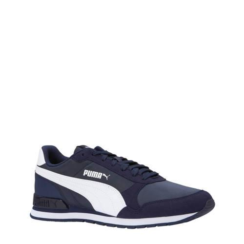 Puma ST Runner v2 NL sneakers donkerblauw-wit