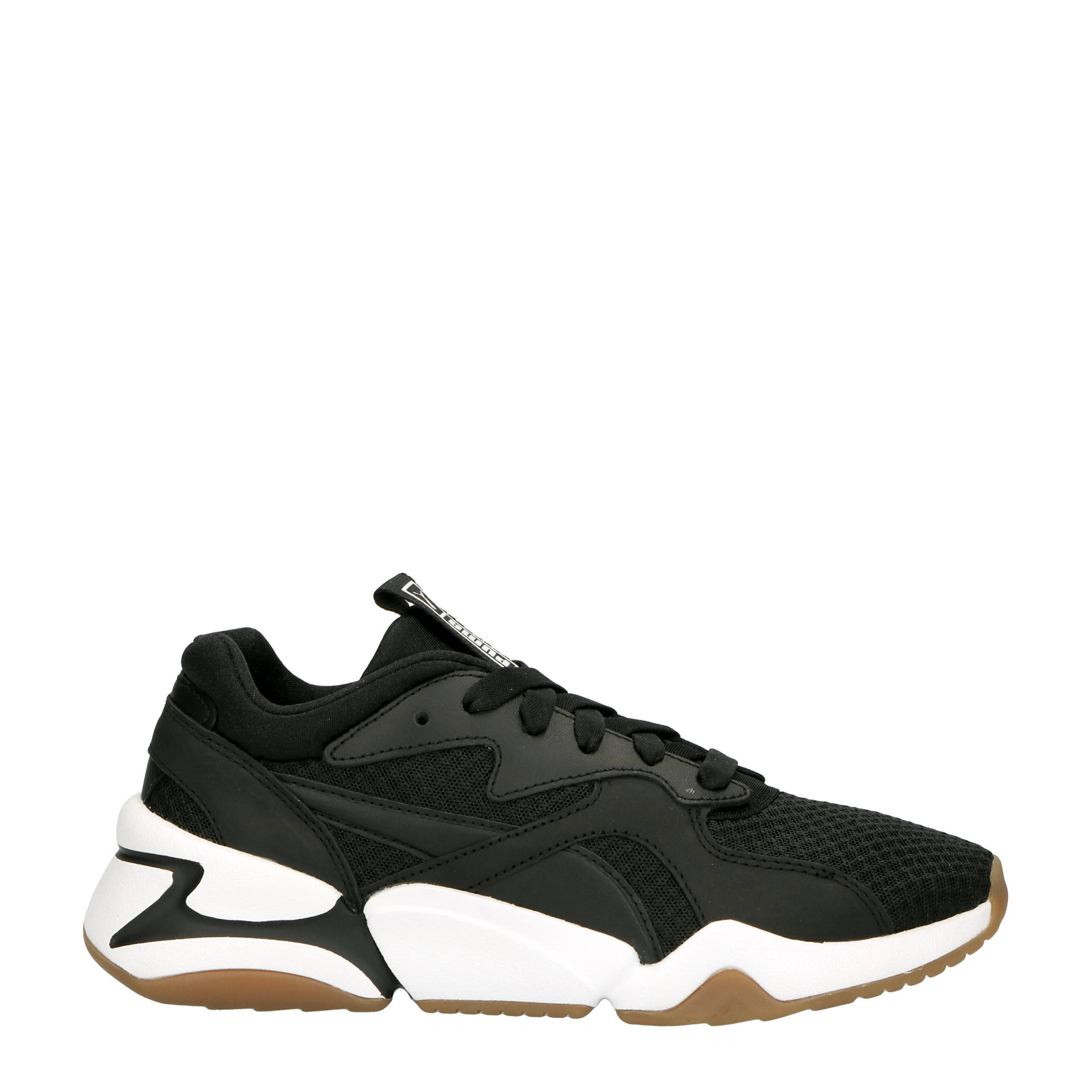 Nova 90's Bloc sneakers zwart