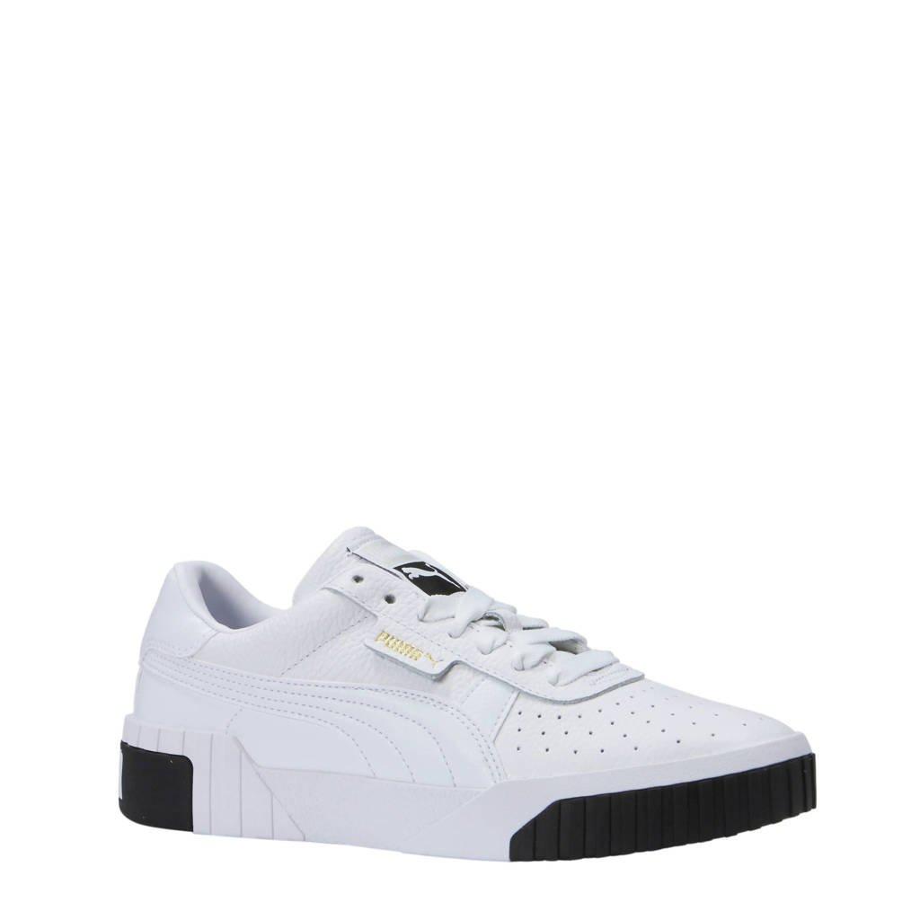 Puma sneakers Cali wit, Wit/zwart