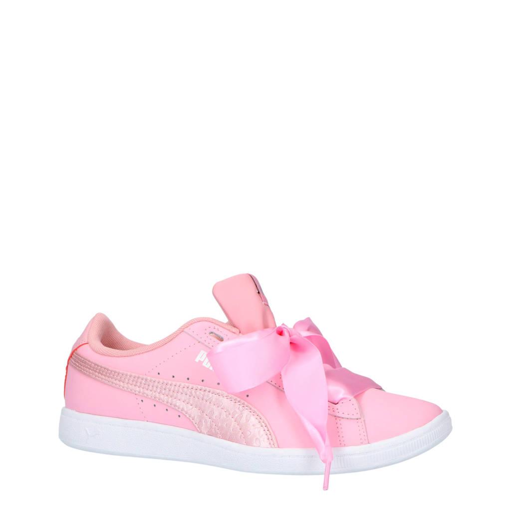 Puma  Vikky Ribbon L Satin Jr sneakers, Roze