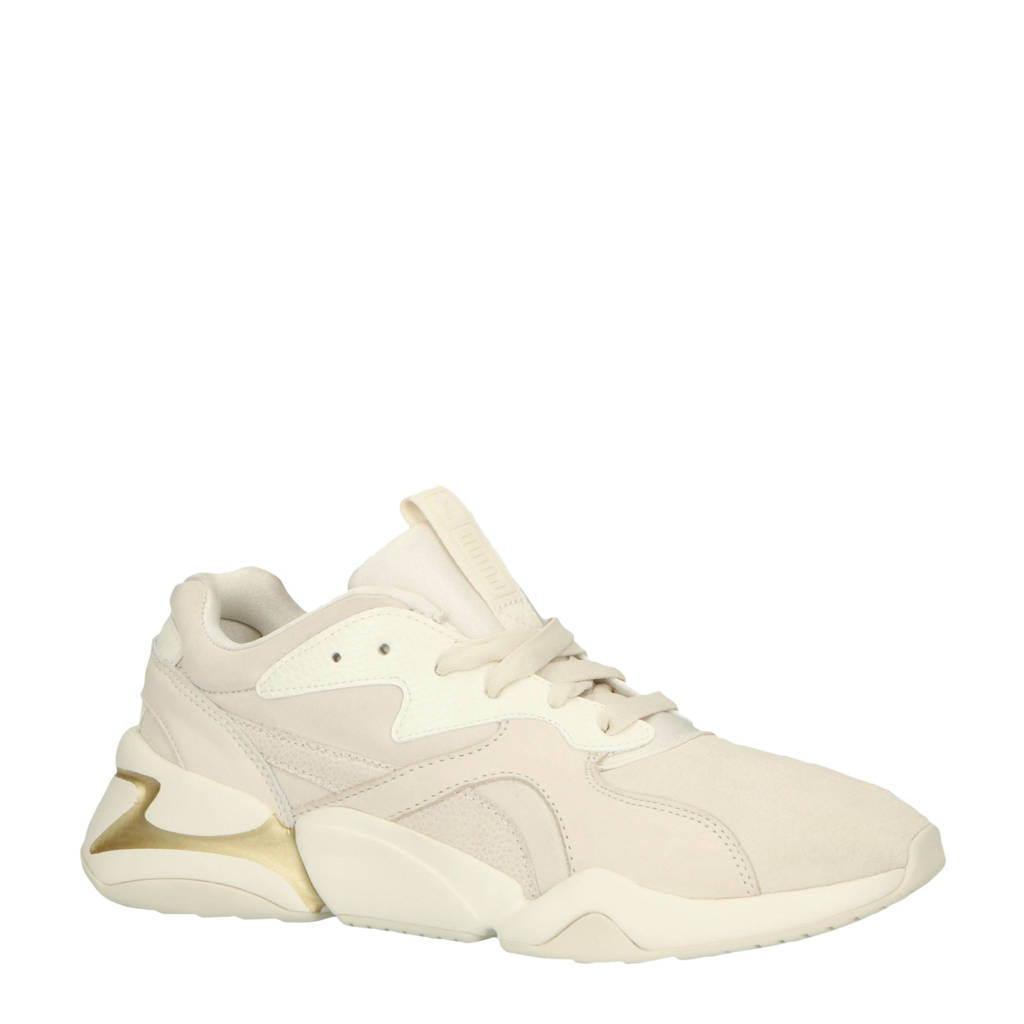 Puma  Nova Pastel Grunge sneakers wit, Wit
