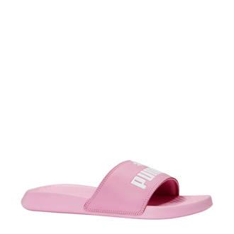 badslippers roze/wit