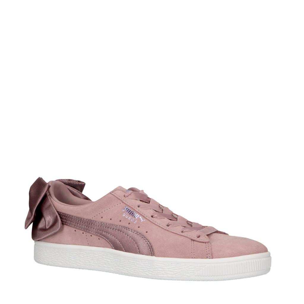 Puma  Suède Bow sneakers fuchsia, Fuchsia