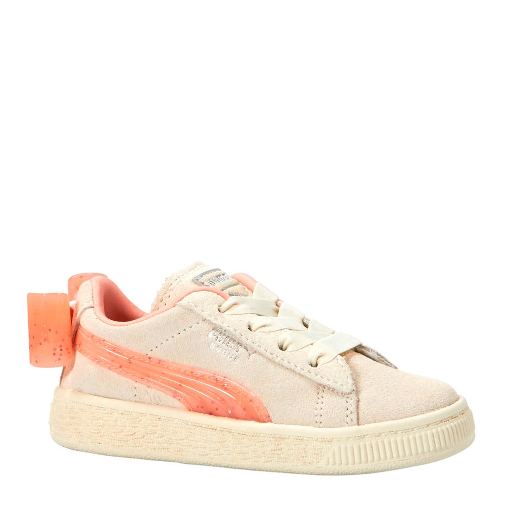 21eff9e75ff Puma Suede Bow Jelly PS sneakers wit/oranje, Wit/oranje