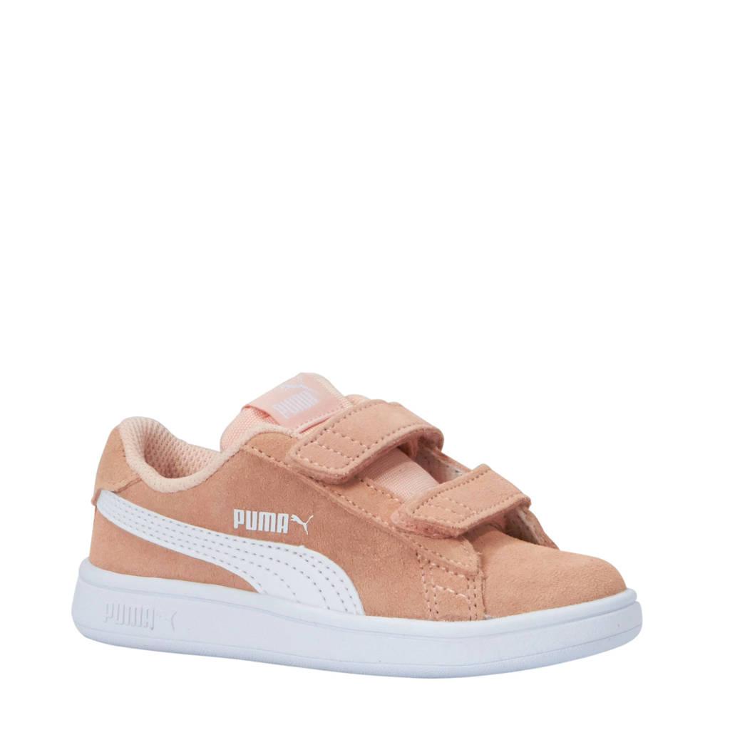 Puma  Smash v2 SD V Inf sneakers roze/wit, zalmroze/wit