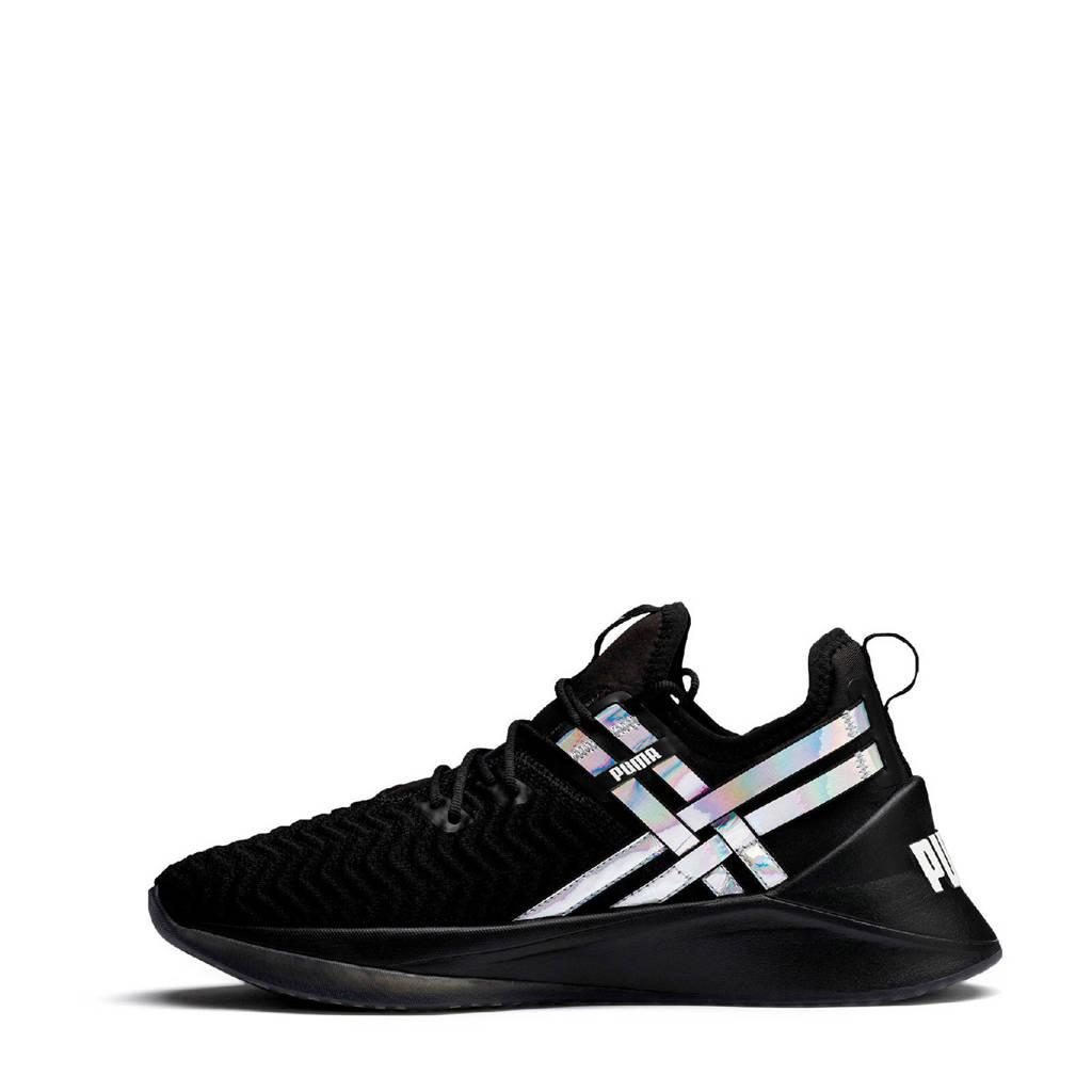 Puma Jaab XT Iridescent TZ fitness schoenen zwart, Zwart/wit