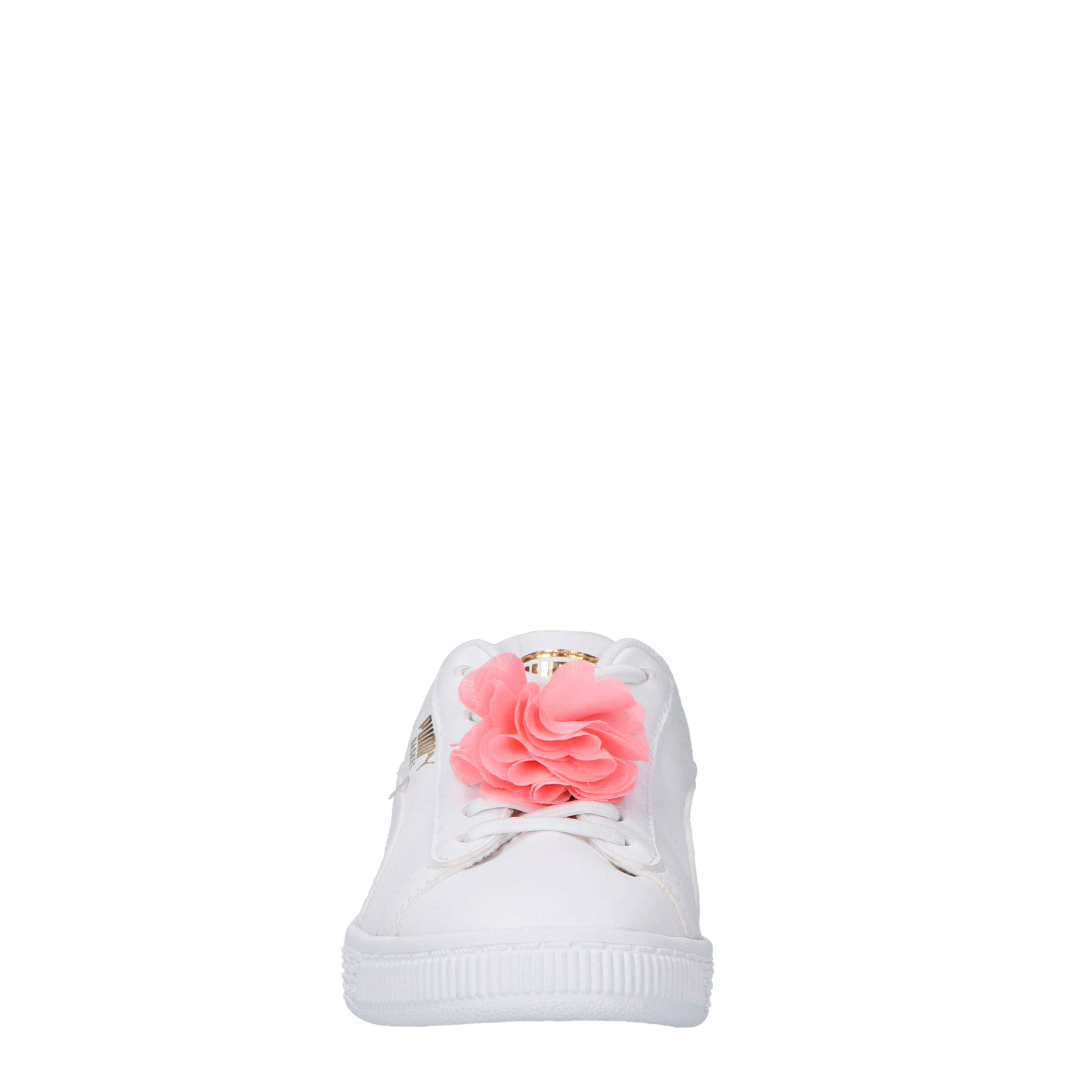 e9e8cbf93c4 Puma Basket Flower AC PS sneakers wit | wehkamp