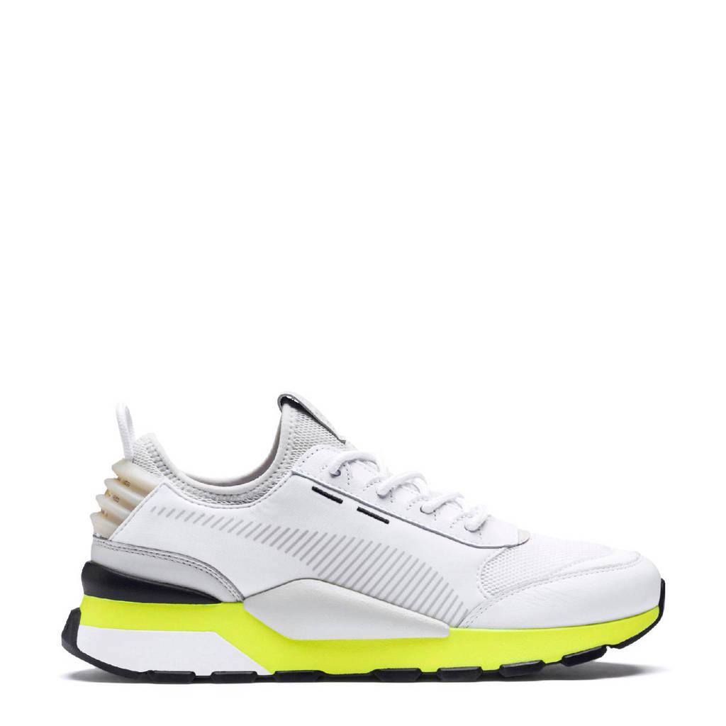 Puma  RS-0 Tracks sneakers wit/geel, Wit/geel/zwart