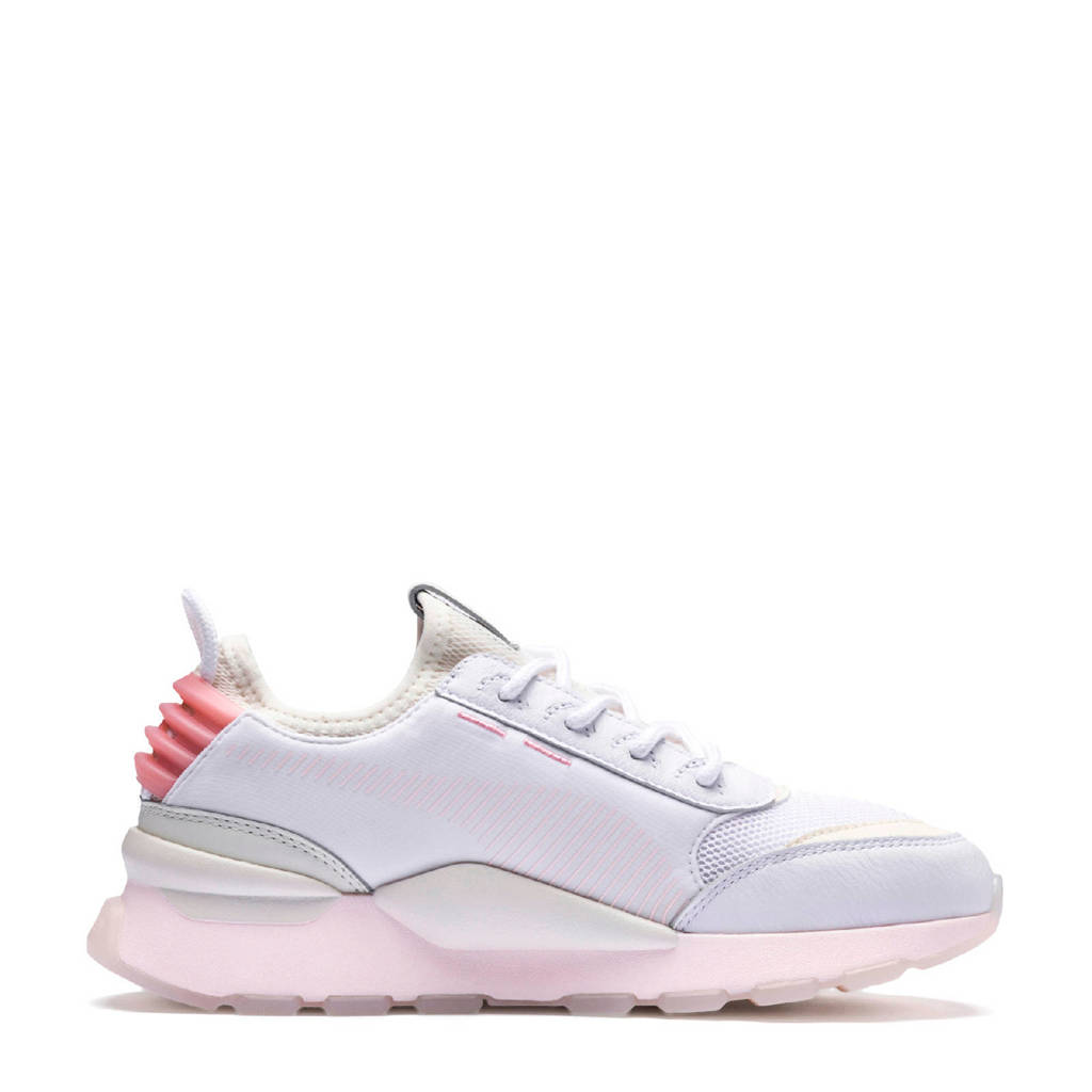 c81f439b415 Puma RS-0 Tracks sneakers wit, Wit/roze