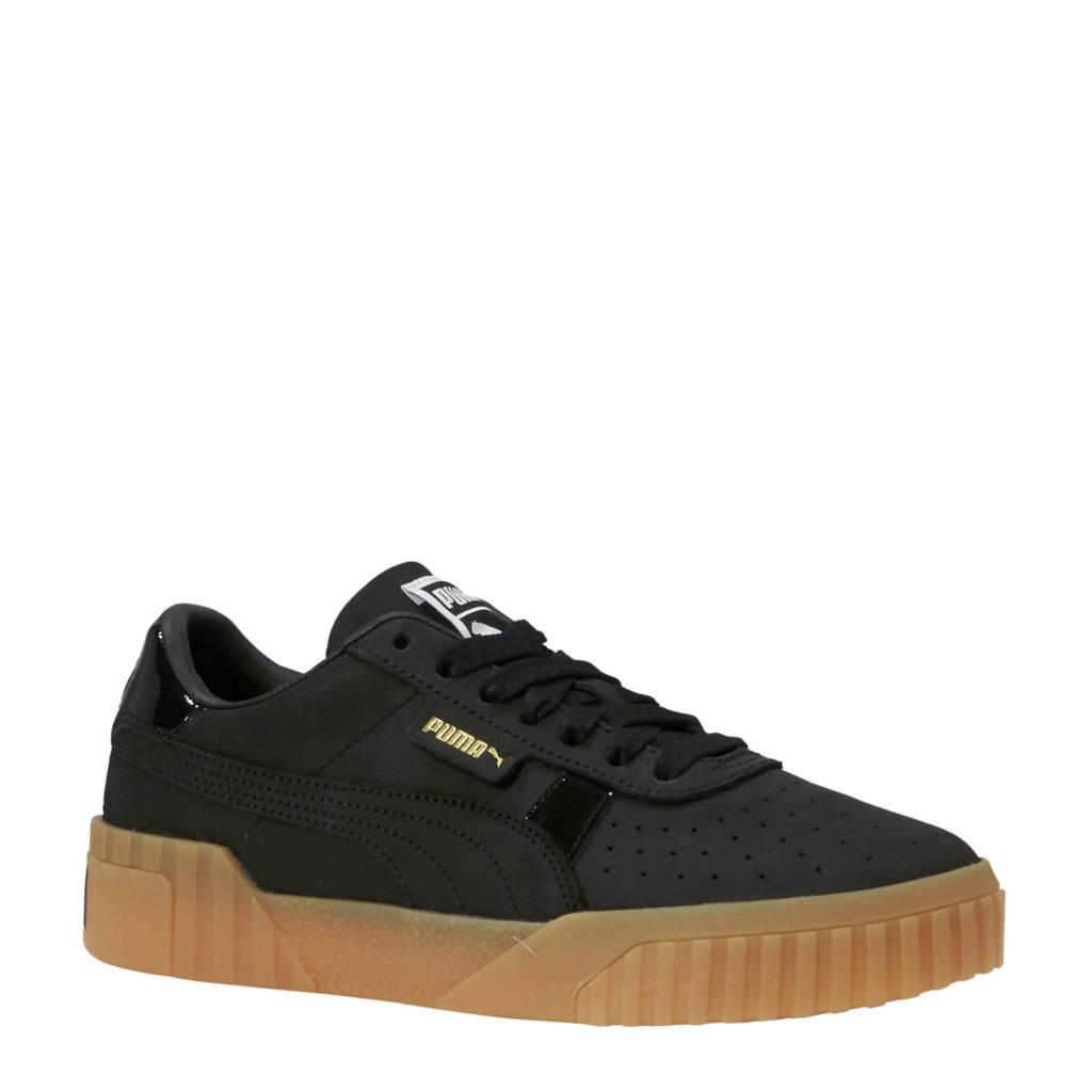 Puma  Cali Nubuck sneakers zwart, Zwart