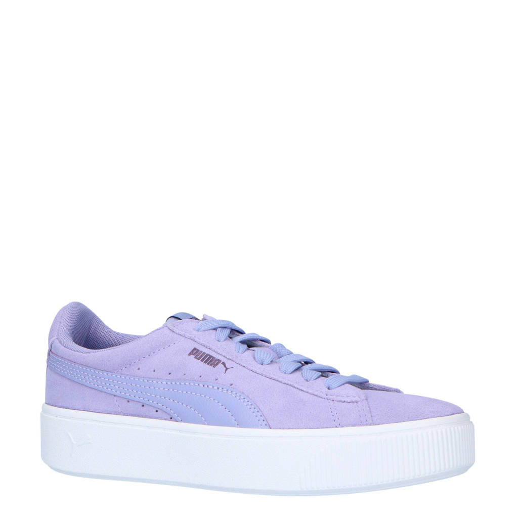 Puma  Vikky Stacked SD sneakers paars, Paars