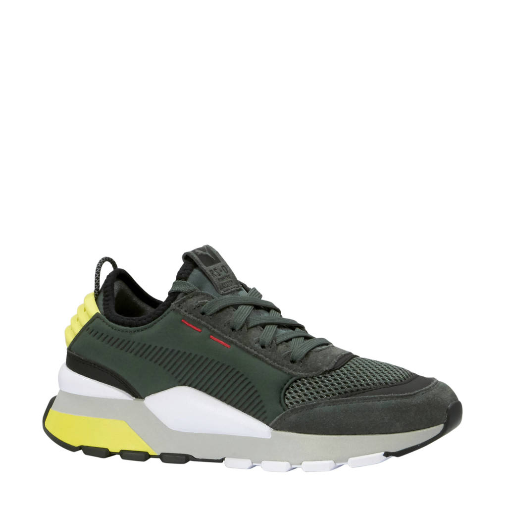 55f74200fbd Puma RS-0 Winter INJ TOYS sneakers, Grijs/zwart/geel