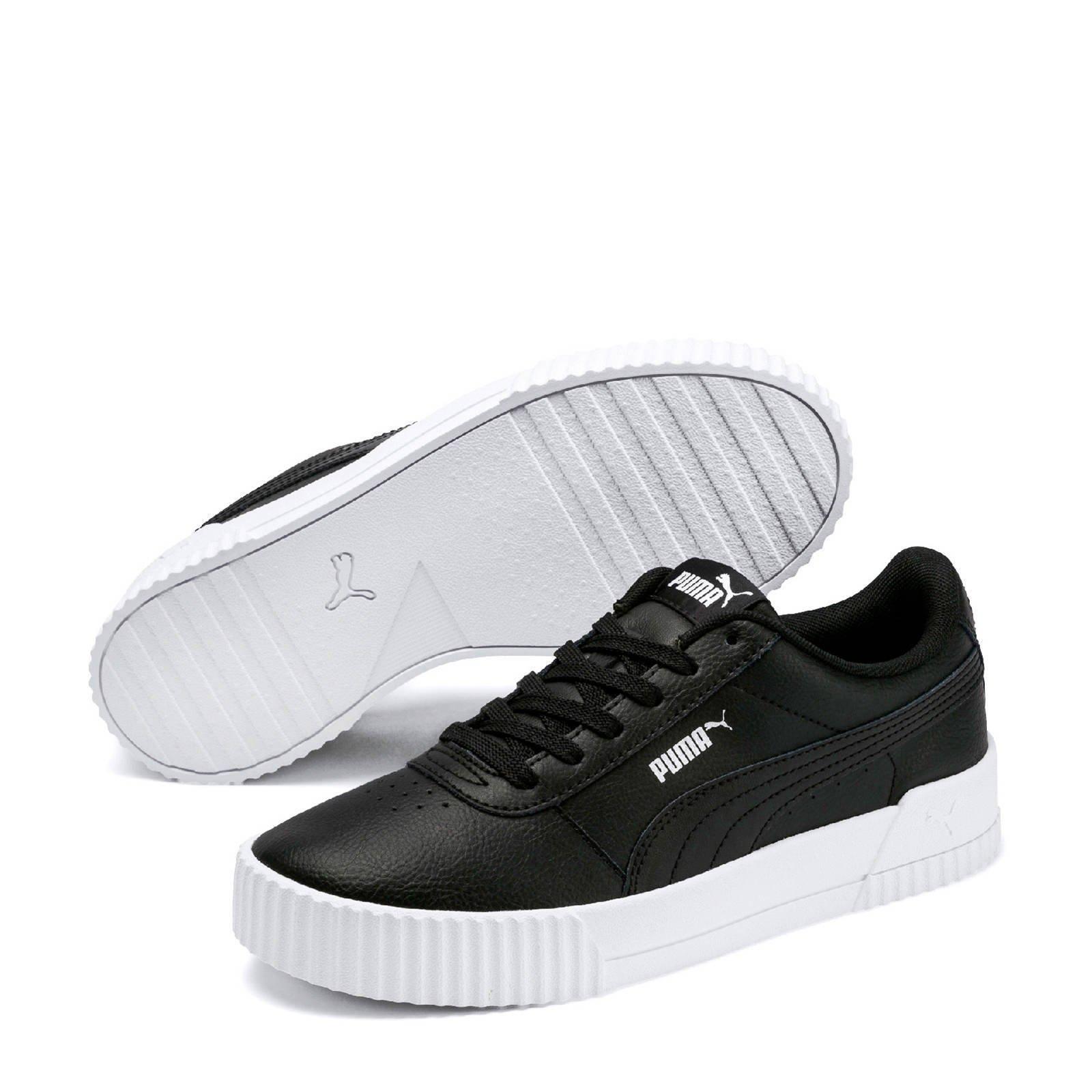 Puma Carina L sneakers zwart/wit | wehkamp