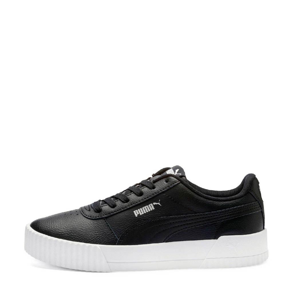 Puma  Carina sneakers zwart, Zwart/wit