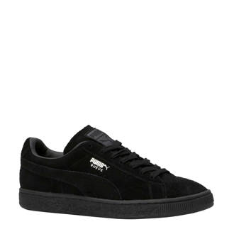 Suede Classic+ sneakers zwart