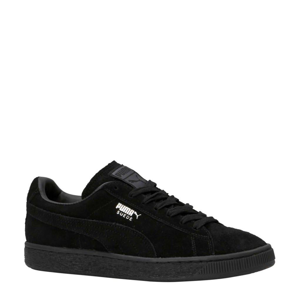 Puma  Suede Classic+ sneakers zwart, Zwart/Zwart
