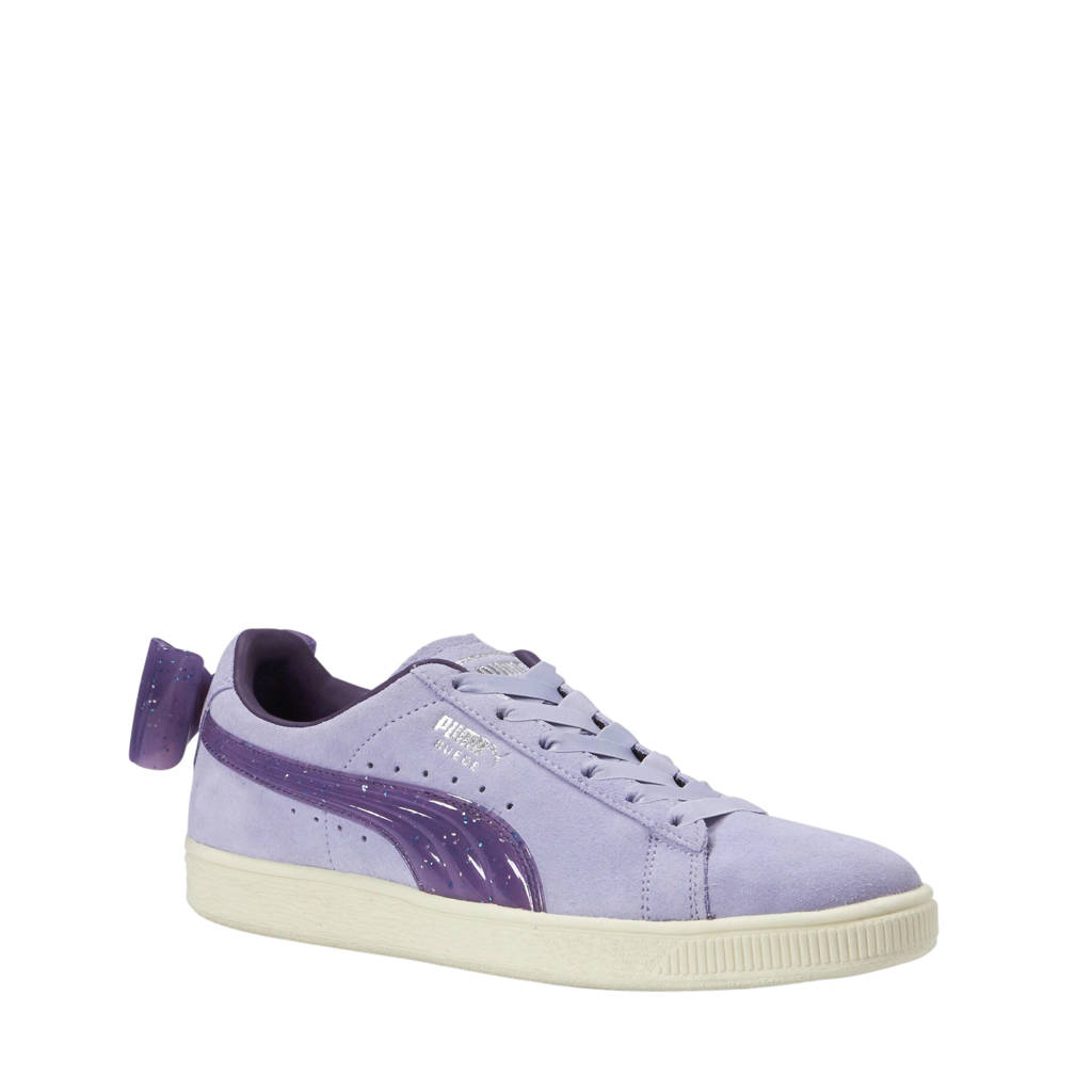Puma  Suede Bow Jelly Jr sneakers lila/paars, Lila/paars