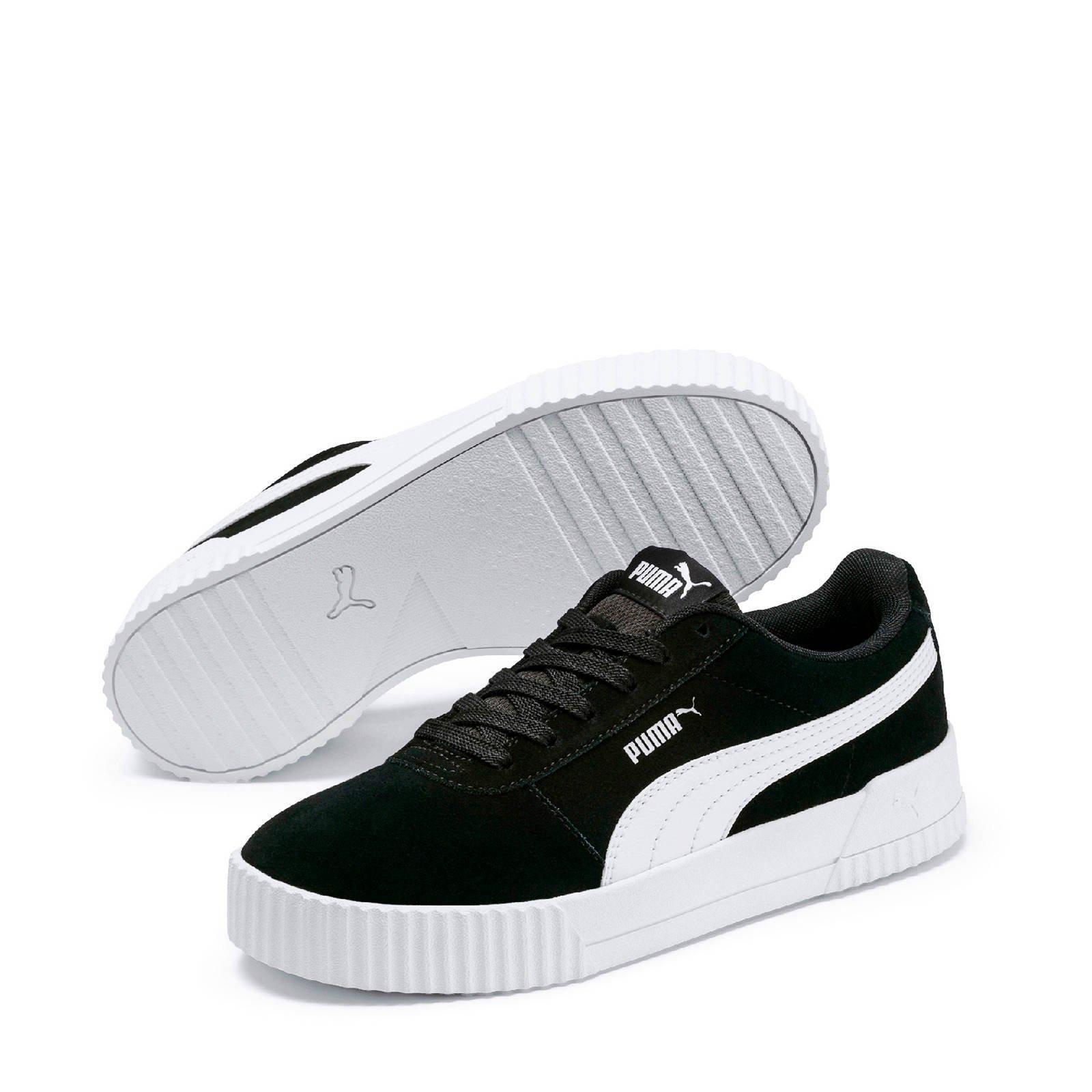 Carina suède sneakers zwart