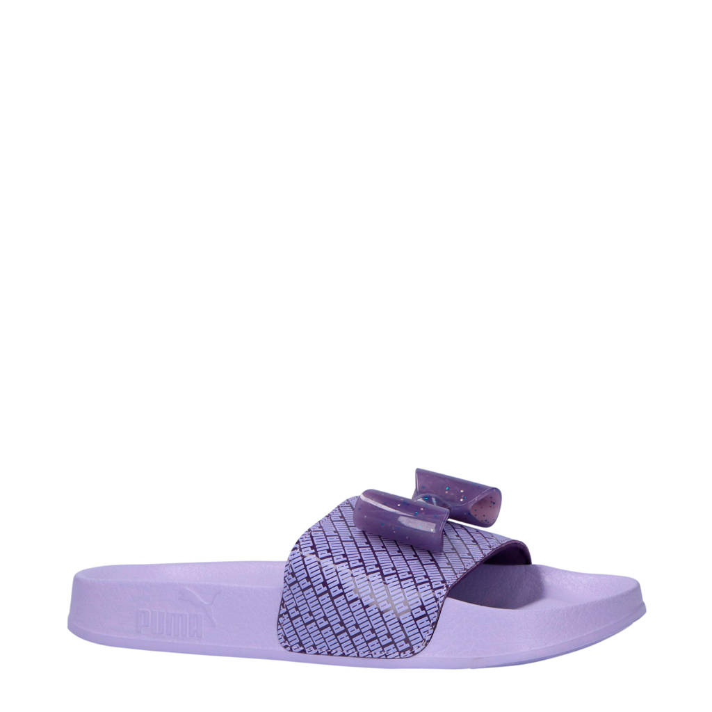 Puma Leadcat Bow Jelly Jr badslippers, Paars