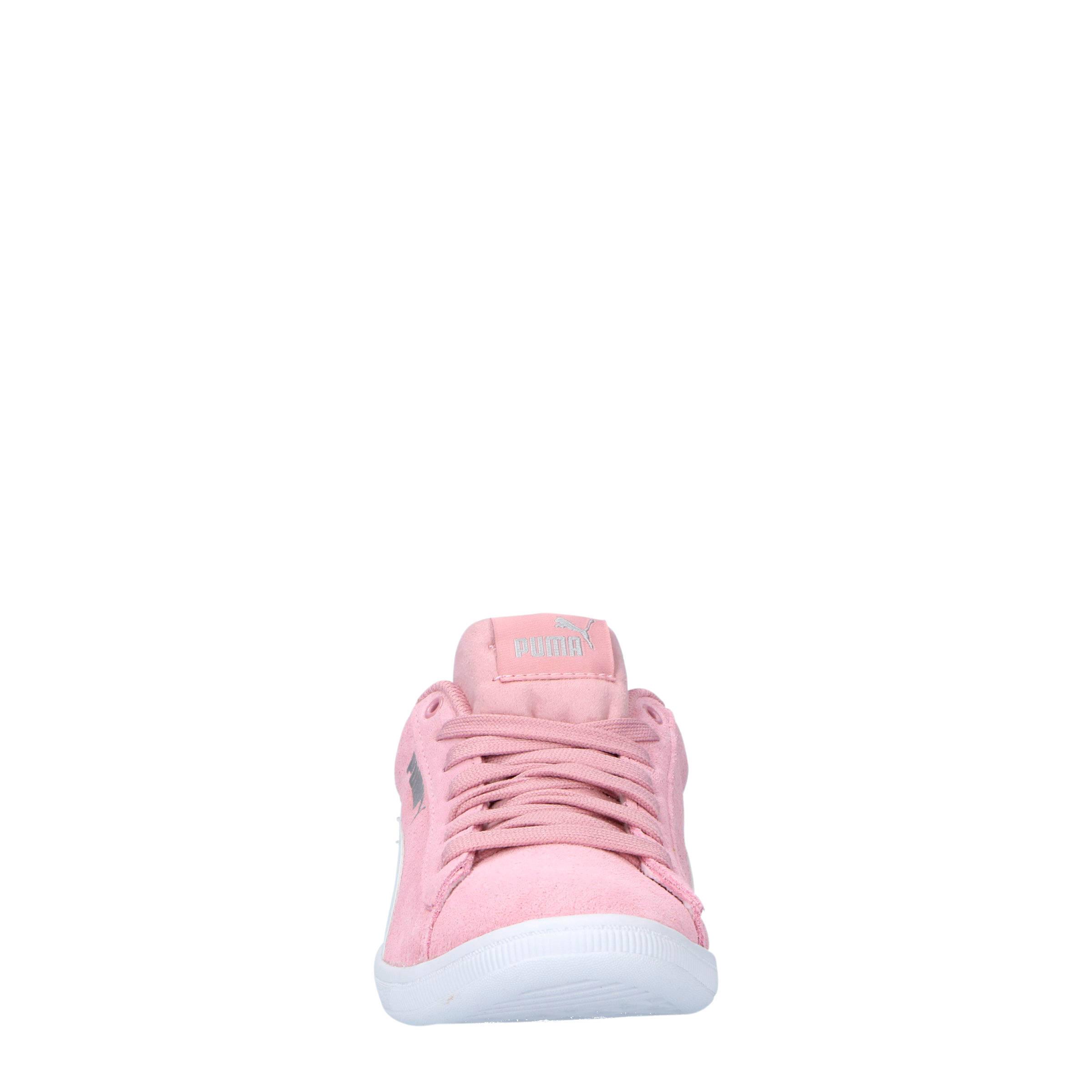 Puma Vikky Jr suède sneakers roze   wehkamp