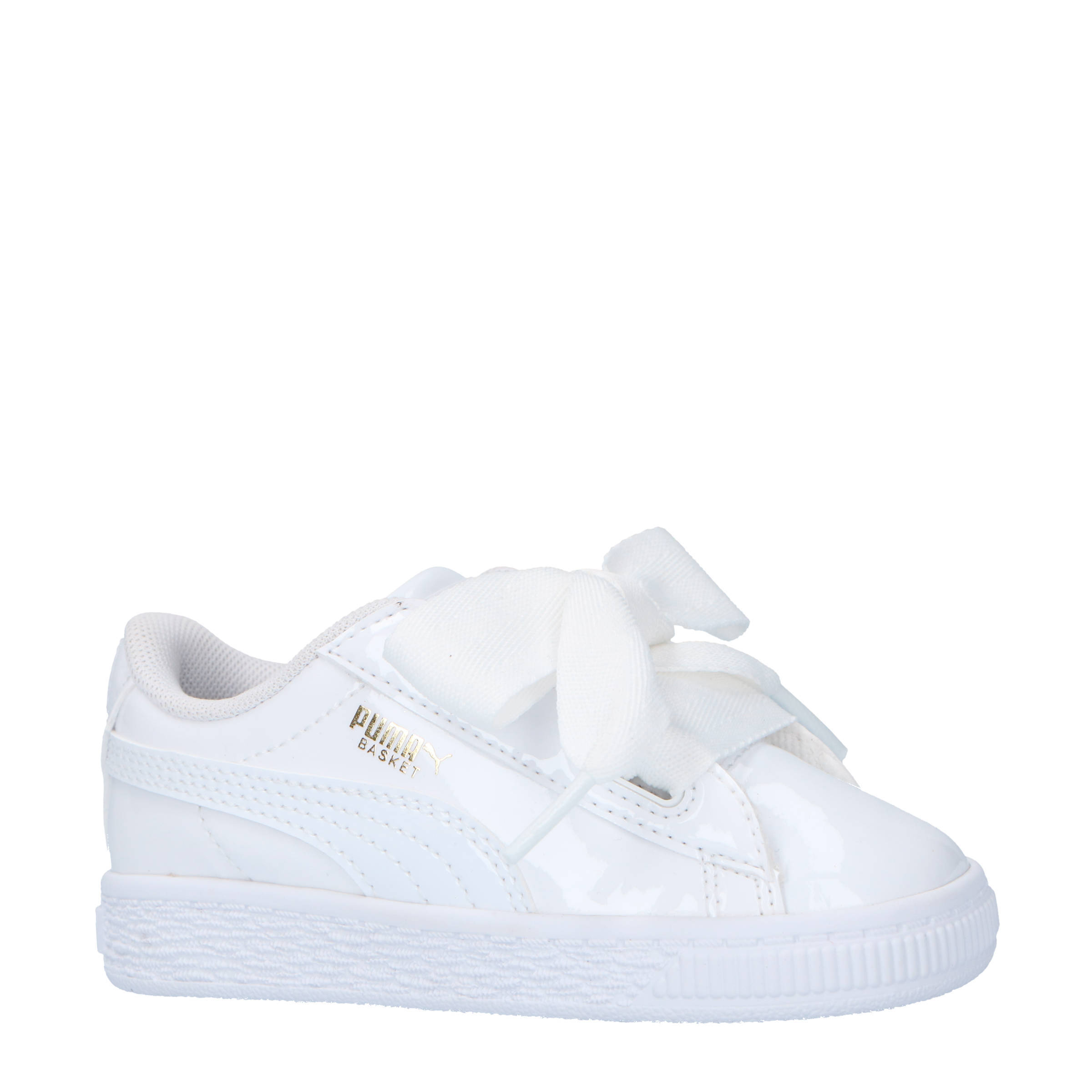 18d98db3481 Puma Basket Heart Patent Inf sneakers wit | wehkamp