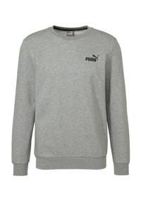 Puma   sweater grijs melange, Grijs melange