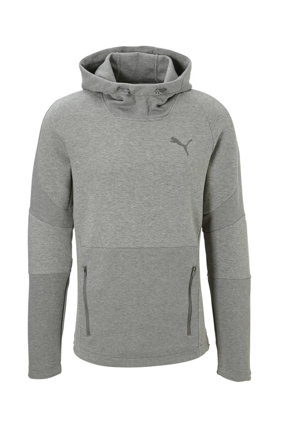 Puma   hoodie, Grijs melange