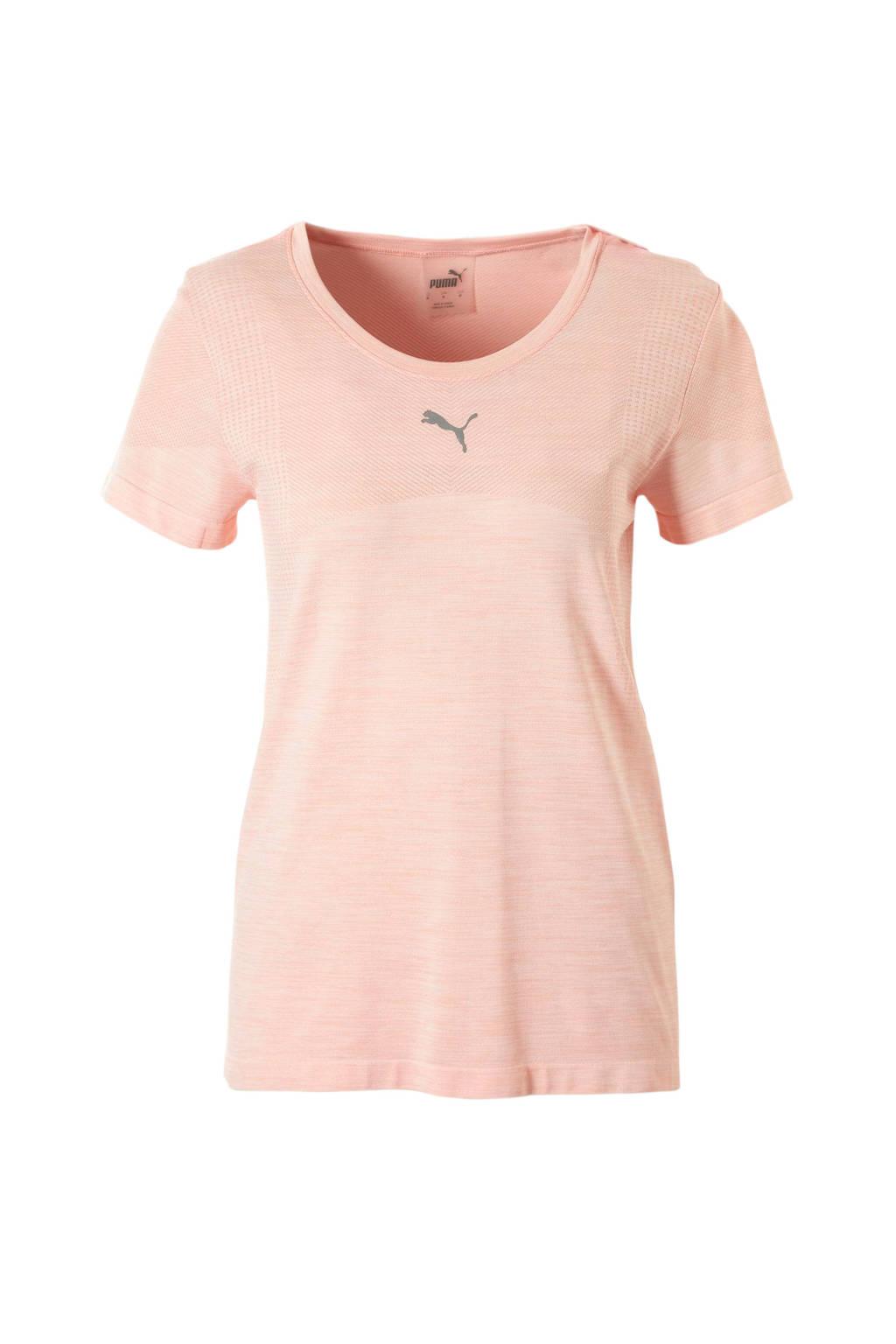 Puma T-shirt roze, roze/zalmroze