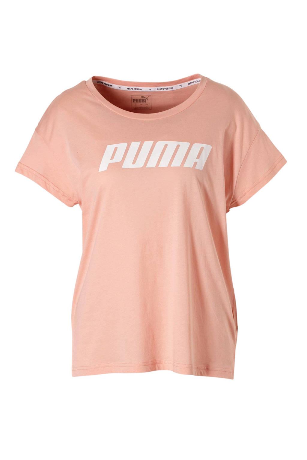 Puma sport T-shirt roze, Roze/wit