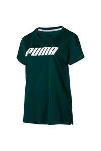 Puma / Puma sport T-shirt donkergroen