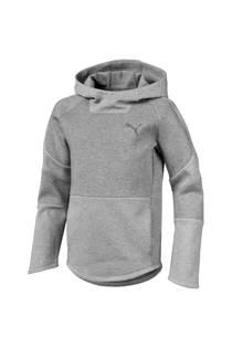 Puma   hoodie grijs melange (jongens)