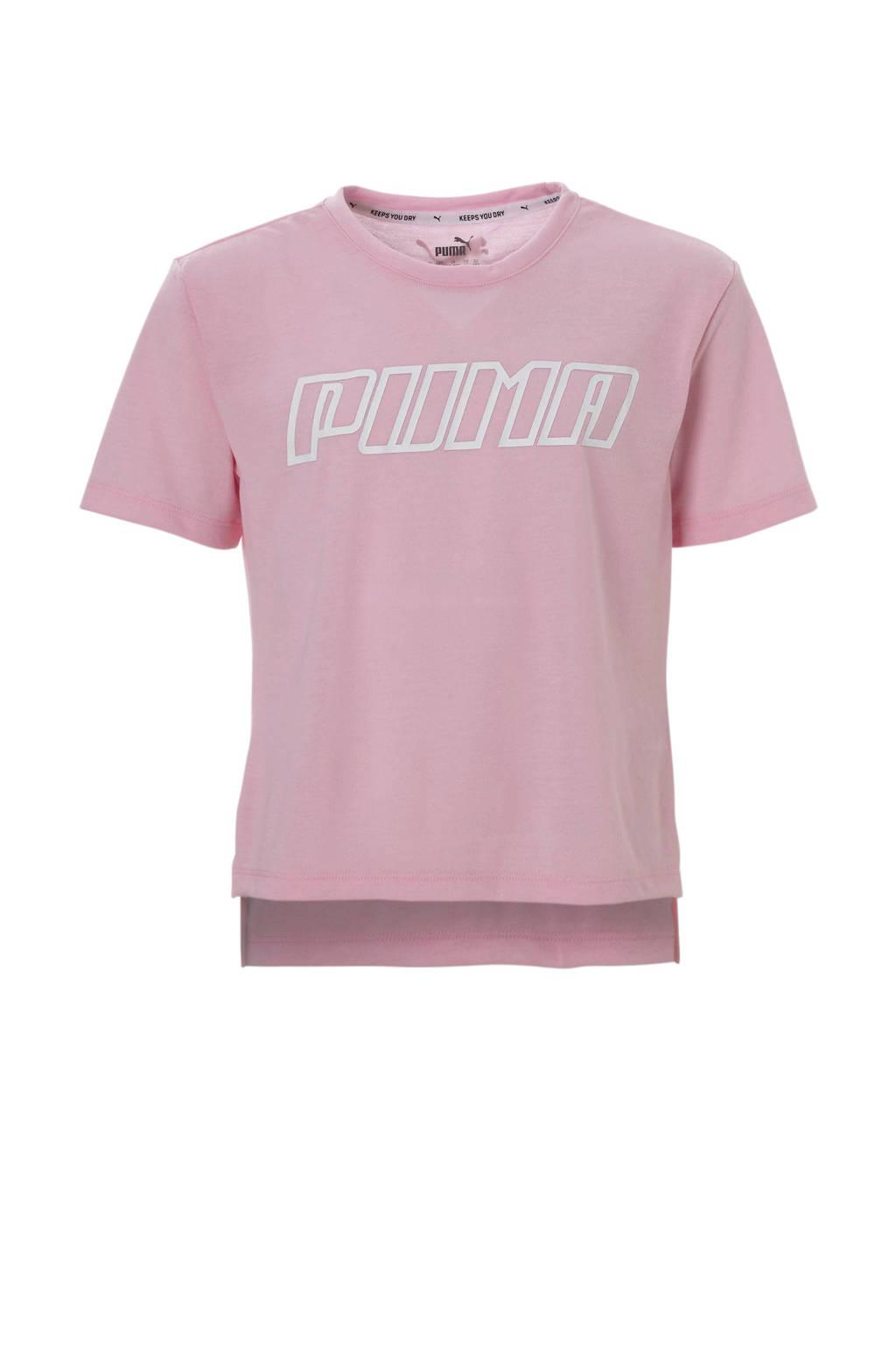 Puma T-shirt roze, Roze/wit