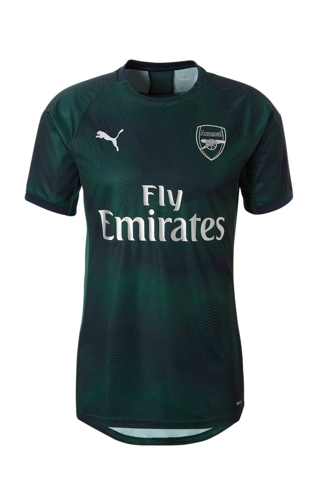 Puma Senior Arsenal FC voetbalshirt, Donkergroen/zwart