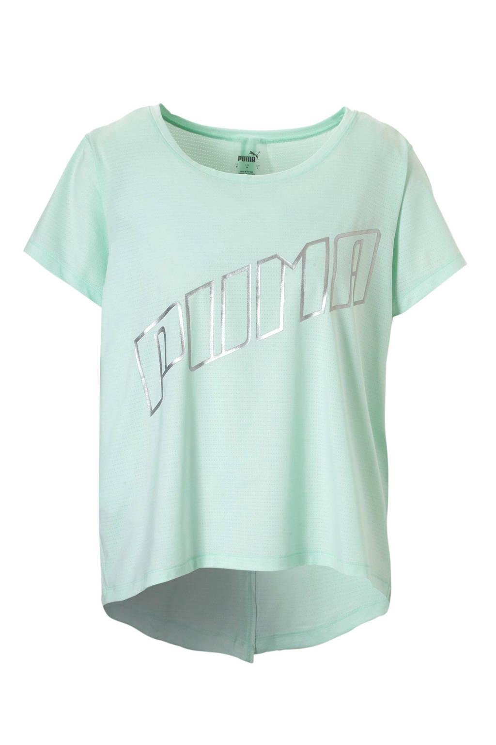 Puma hardloop T-shirt mintgroen, Mintgroen