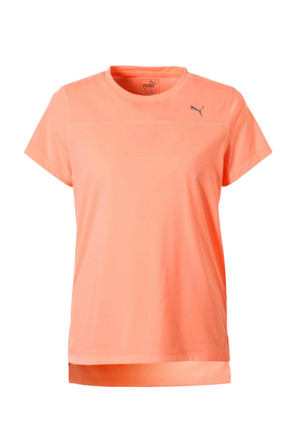 Puma sport T-shirt zalmroze, Zalmroze