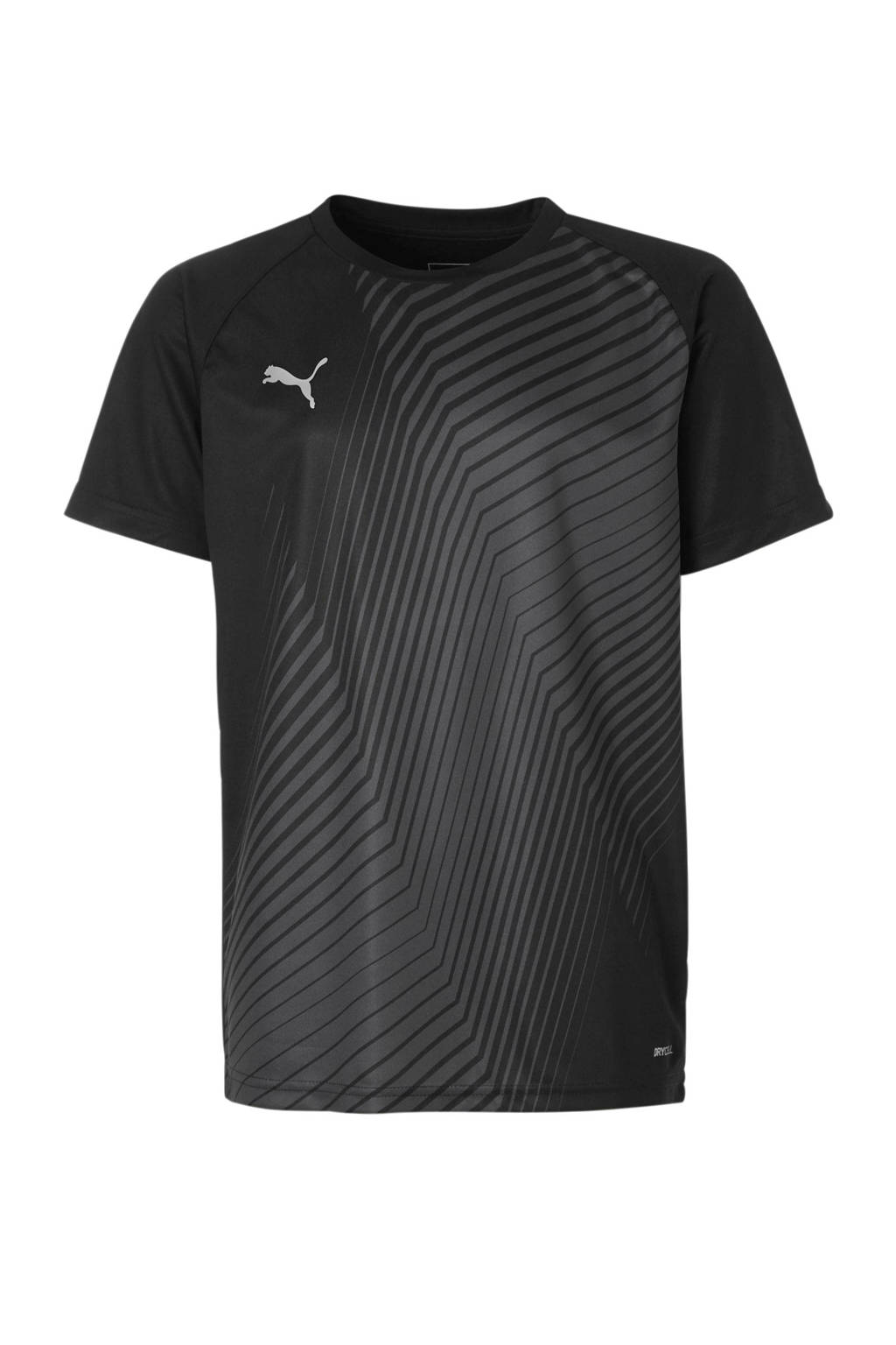 Puma Junior  voetbalshirt zwart, Zwart