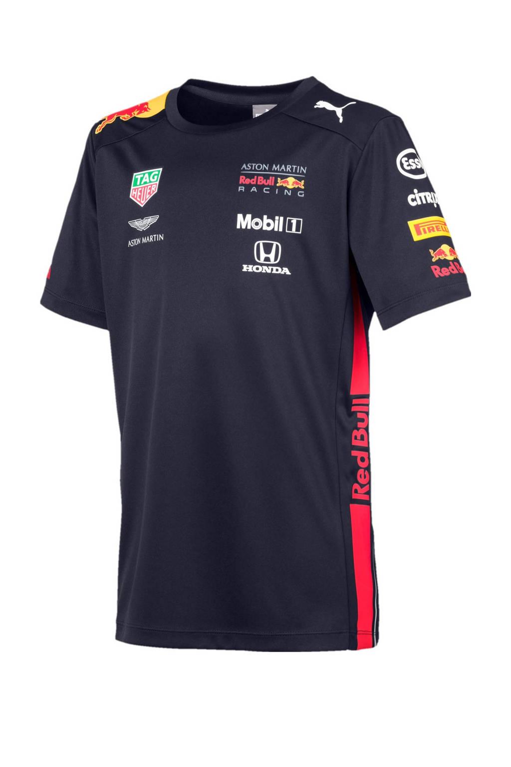 Puma Red Bull Racing T-shirt, Donkerblauw