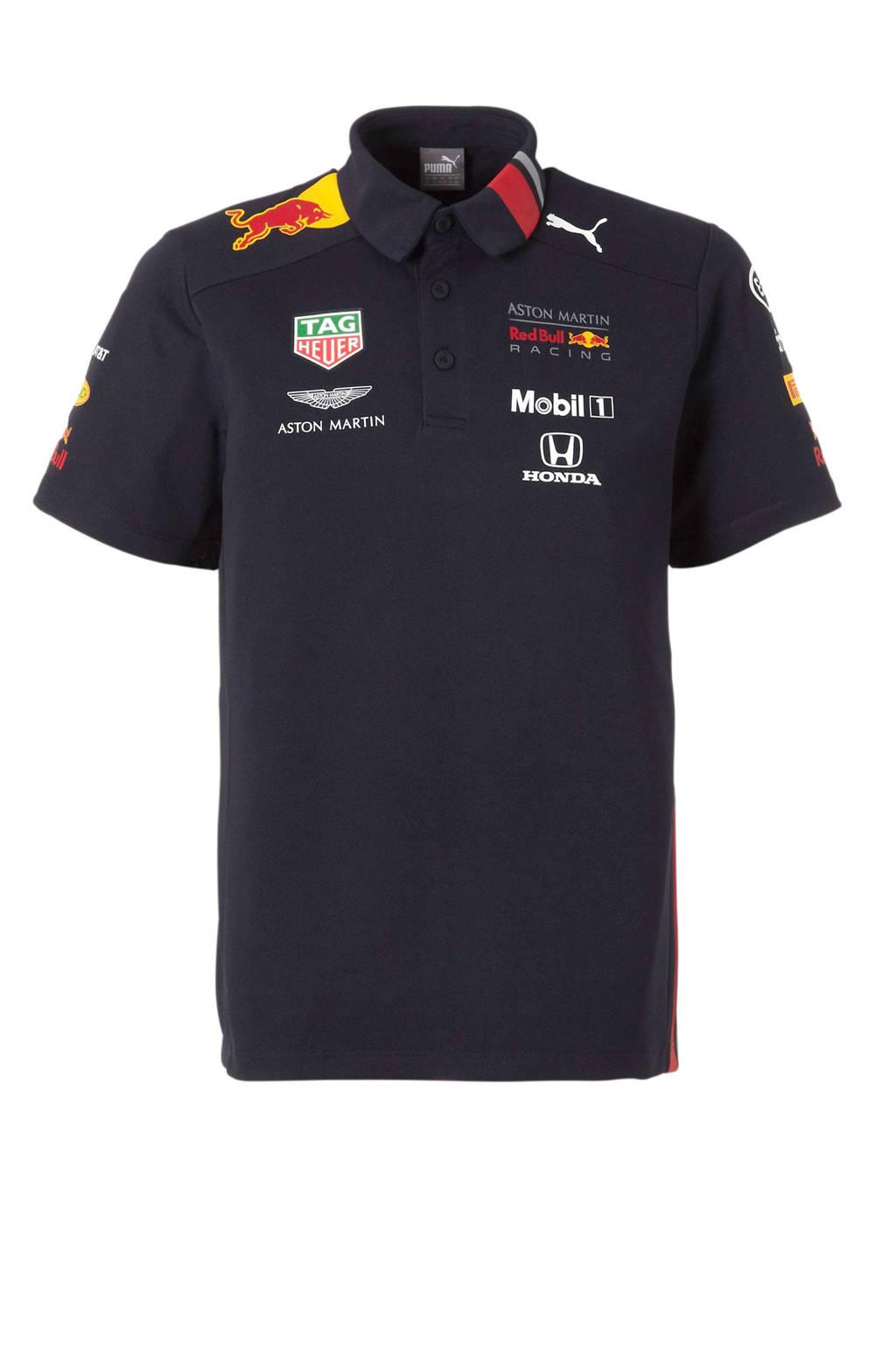 Puma Red Bull Racing polo, Donkerblauw