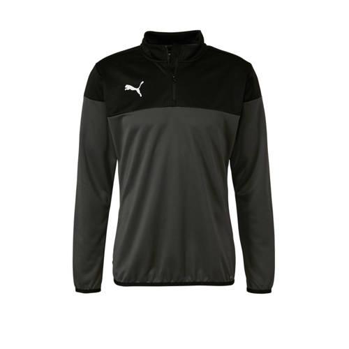 Puma sportsweater grijs/zwart kopen