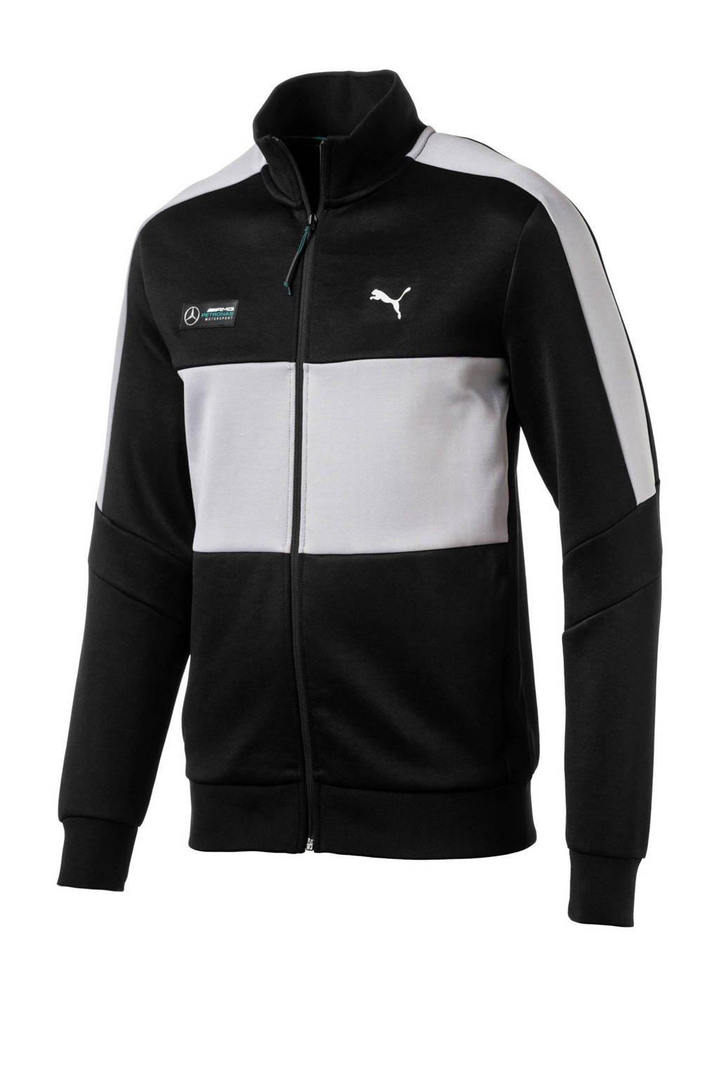 Puma   sportvest Mercedes-Benz Grand Prix Limited zwart/grijs, Zwart/grijs