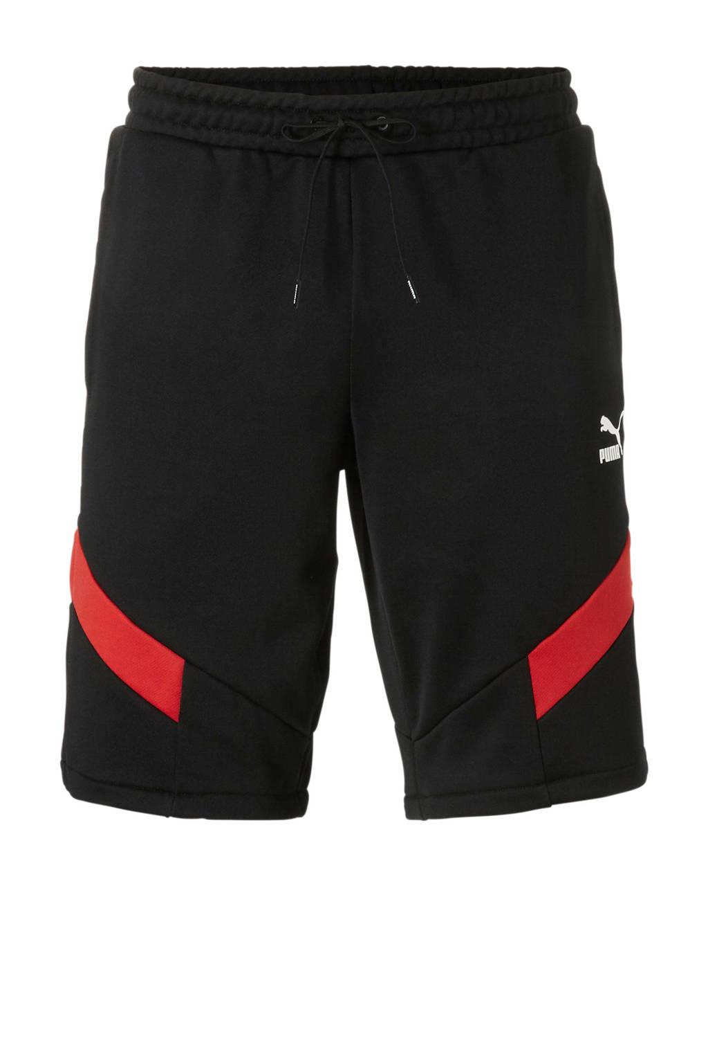 Puma   short zwart/rood, Zwart/rood