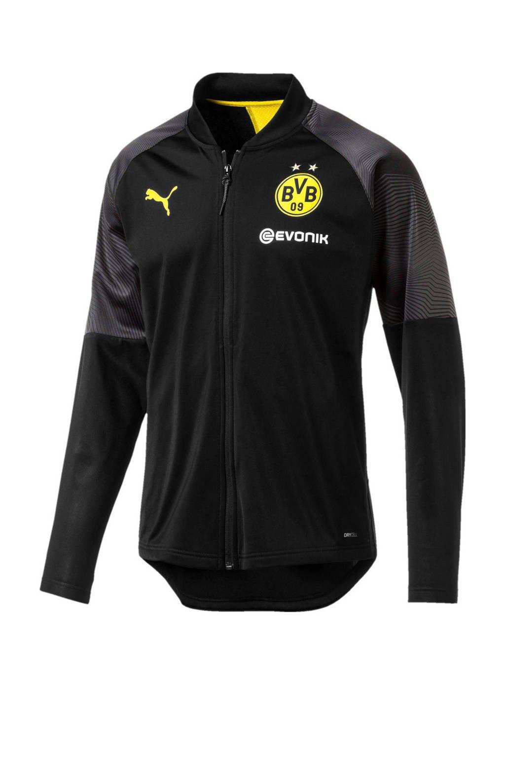 Puma Senior Borussia Dortmund voetbaljack, Zwart