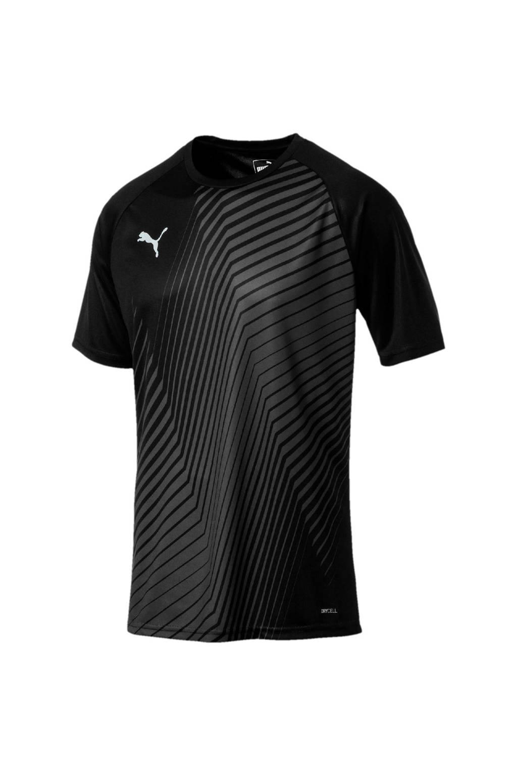 Puma   voetbalshirt zwart, Zwart