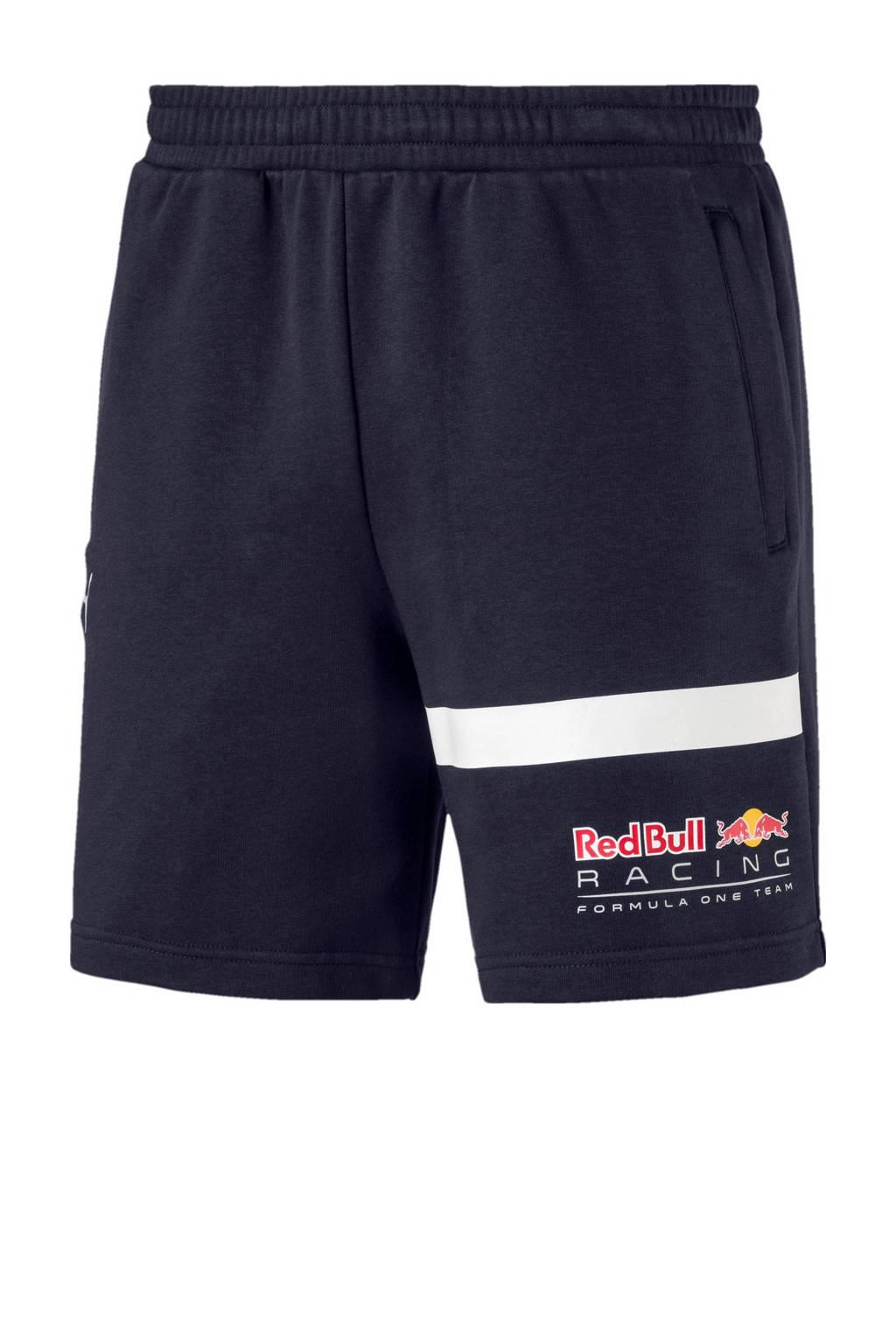 Puma   Red Bull Racing sweatshort, Donkerblauw
