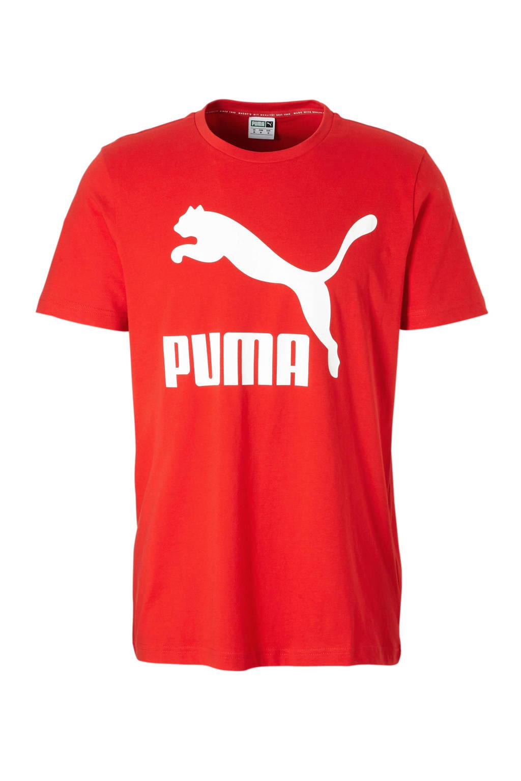 Puma   sport T-shirt rood, Rood