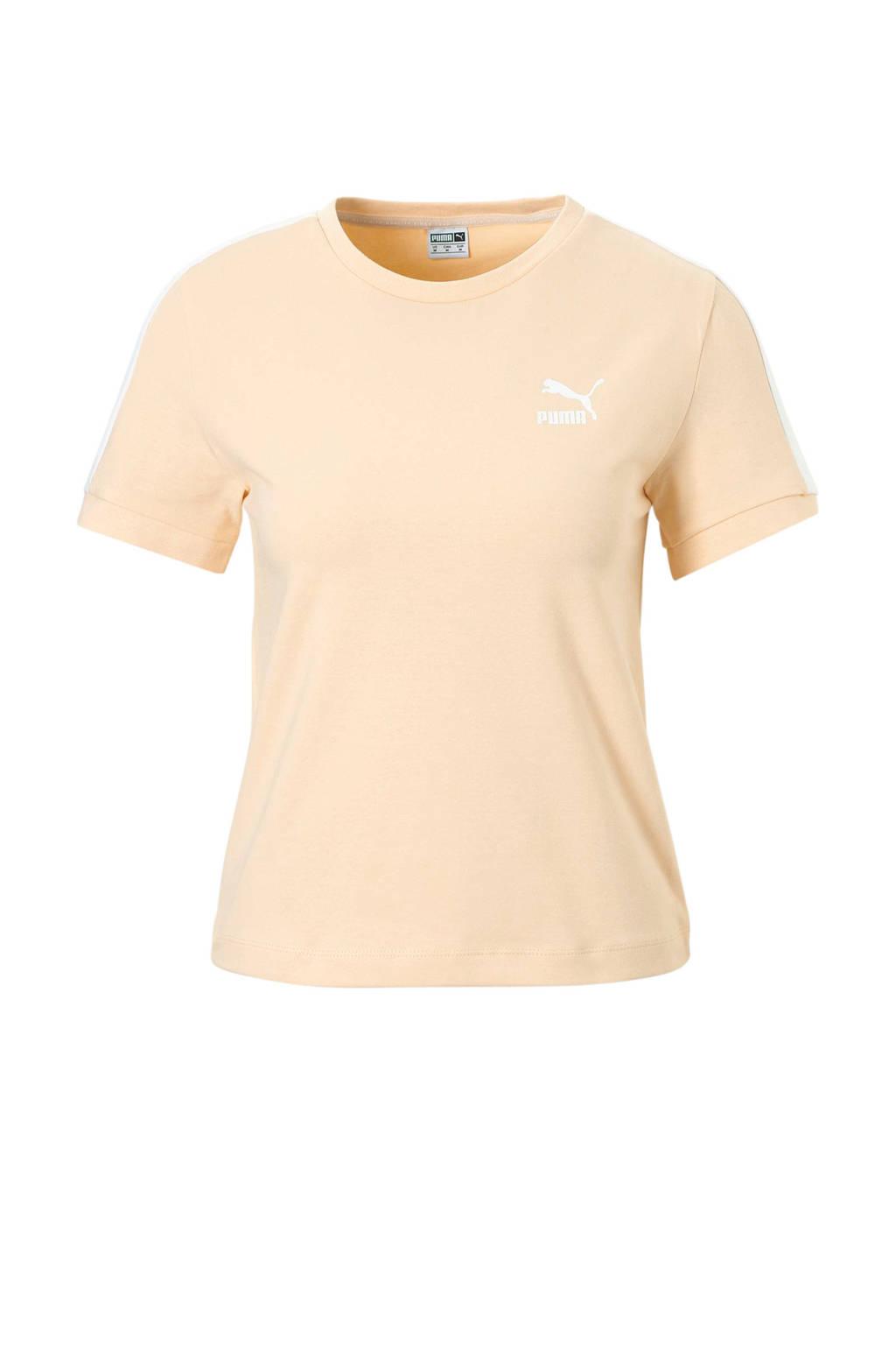 Puma T-shirt zalmroze, Zalmroze