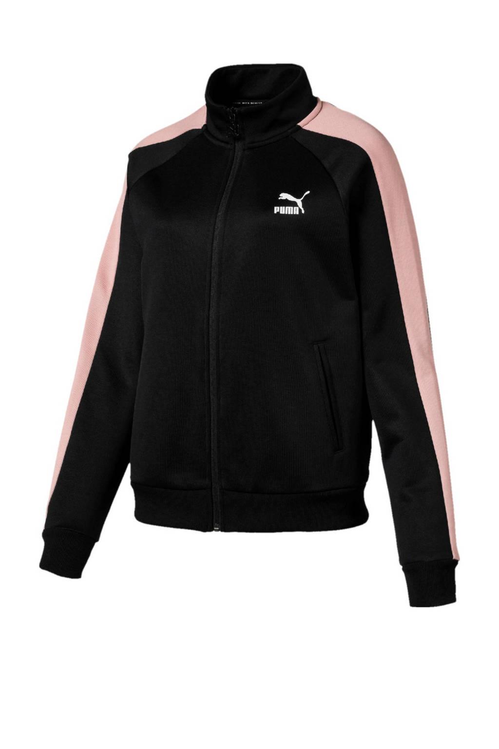 Puma vest zwart/roze, Zwart/roze