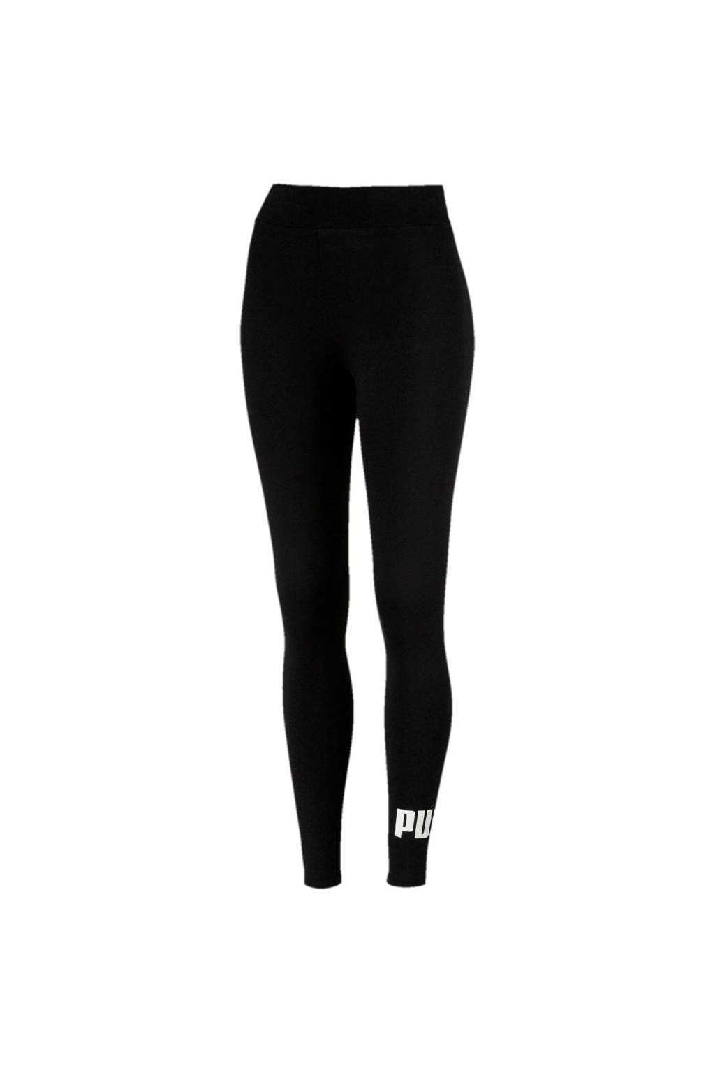 Puma 7/8 sportlegging zwart, Zwart/wit
