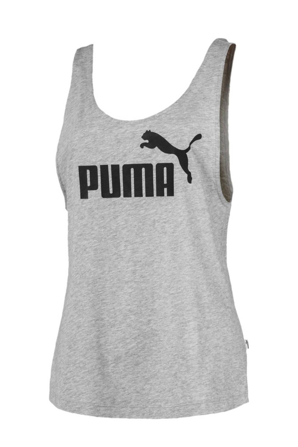 Puma top, Grijs melange/zwart