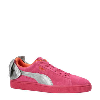 Suède Bow AC PS sneakers fuchsia